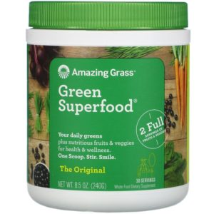 Amazing Grass, Green Superfood, The Original, 240 גרם (oz 8.5)