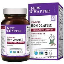 New Chapter Iron Complex Tablets